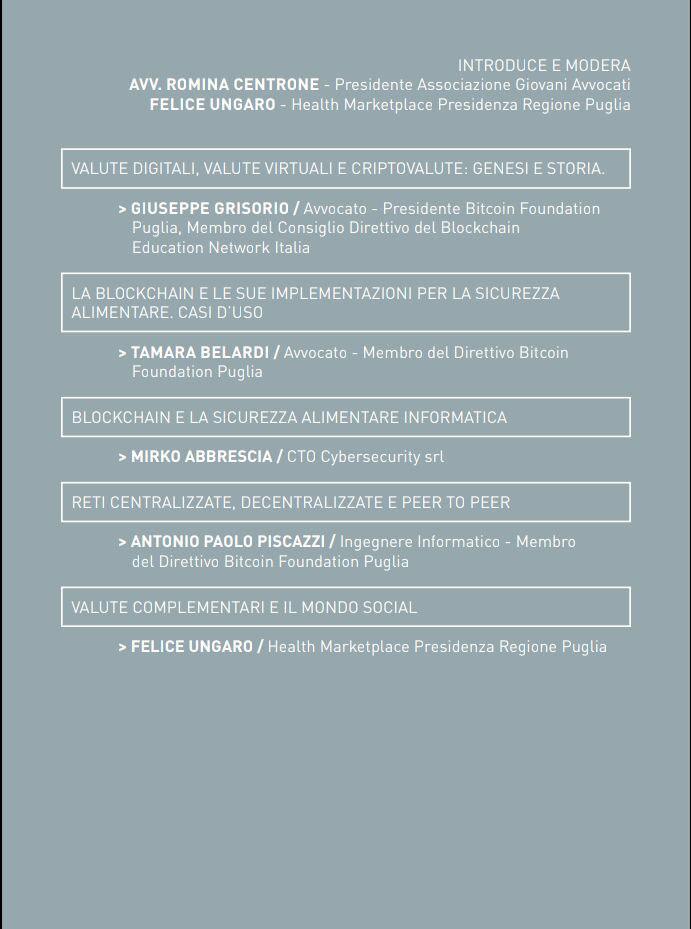 Locandina 2, Apulian LifeStyle Taranto 2018