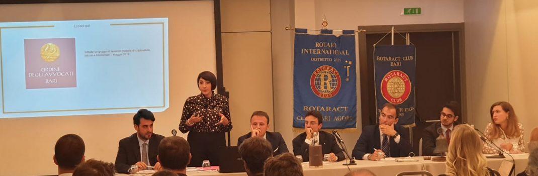 Bari: incontro Rotaract sulle criptovalute