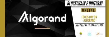 Focus Day on Algorand